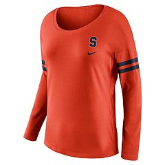 Women's Nike Syracuse Orange Tailgate Long-Sleeve Tee