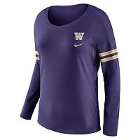Women's Nike Washington Huskies Tailgate Long-Sleeve Tee