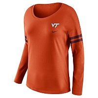 Women's Nike Virginia Tech Hokies Tailgate Long-Sleeve Tee