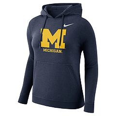 Women's Nike Michigan Wolverines Fleece Hoodie