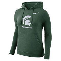 Women's Nike Michigan State Spartans Fleece Hoodie