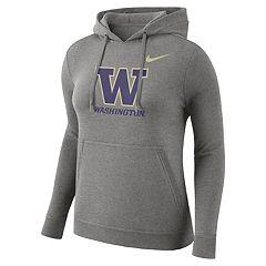 Women's Nike Washington Huskies Fleece Hoodie