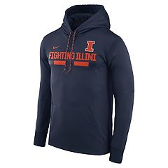 Men's Nike Illinois Fighting Illini Therma-FIT Hoodie