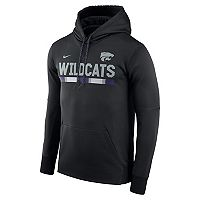 Men's Nike Kansas State Wildcats Therma-FIT Hoodie