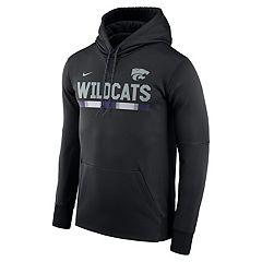 Men's Nike Kansas State Wildcats Therma-FIT Hoodie