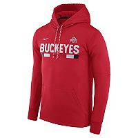 Men's Nike Ohio State Buckeyes Therma-FIT Hoodie