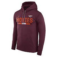 Men's Nike Virginia Tech Hokies Therma-FIT Hoodie