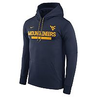 Men's Nike West Virginia Mountaineers Therma-FIT Hoodie