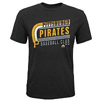 Boys 8-20 Majestic Pittsburgh Pirates Curve Ball Tee