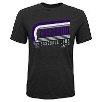 Boys 8-20 Majestic Colorado Rockies Curve Ball Tee