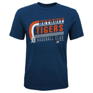 Boys 8-20 Majestic Detroit Tigers Curve Ball Tee