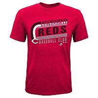 Boys 8-20 Majestic Cincinnati Reds Curve Ball Tee