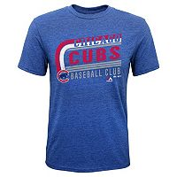 Boys 8-20 Majestic Chicago Cubs Curve Ball Tee