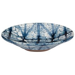 Creative Bath Shibori Ceramic Soap Dish
