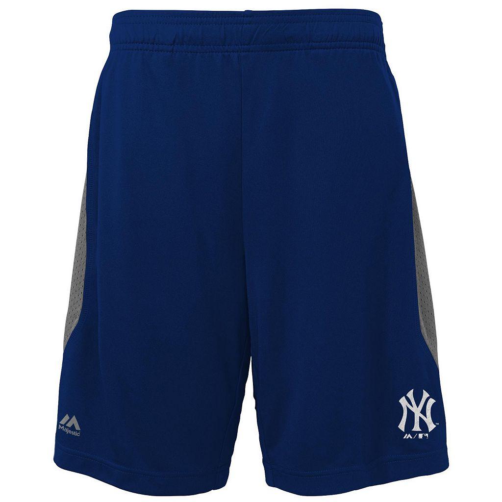 Boys 8-20 Majestic New York Yankees Last Rally Shorts