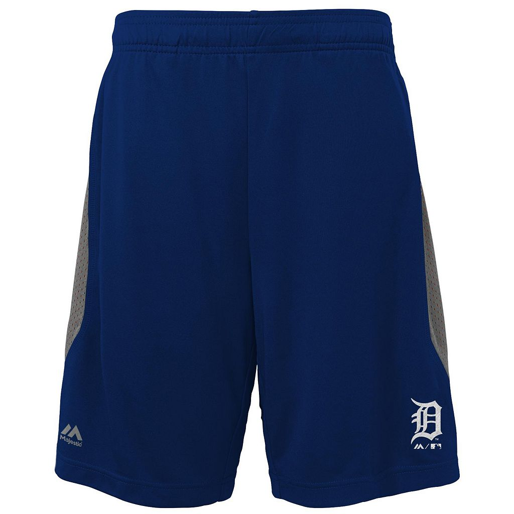 Boys 8-20 Majestic Detroit Tigers Last Rally Shorts