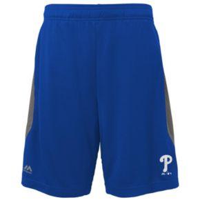 Boys 8-20 Majestic Philadelphia Phillies Last Rally Shorts