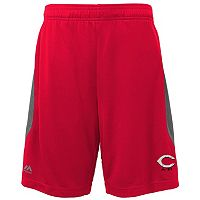 Boys 8-20 Majestic Cincinnati Reds Last Rally Shorts