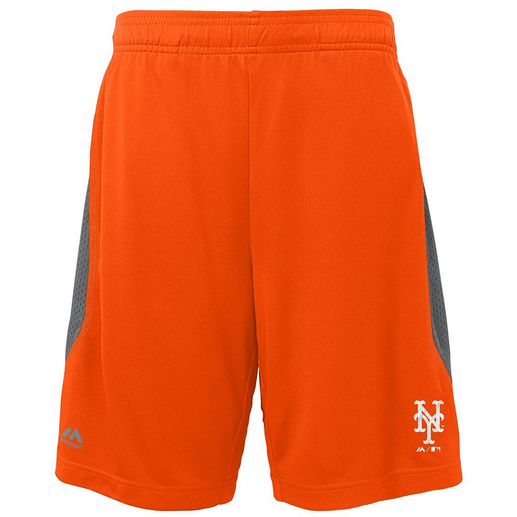 Boys 8-20 Majestic New York Mets Last Rally Shorts