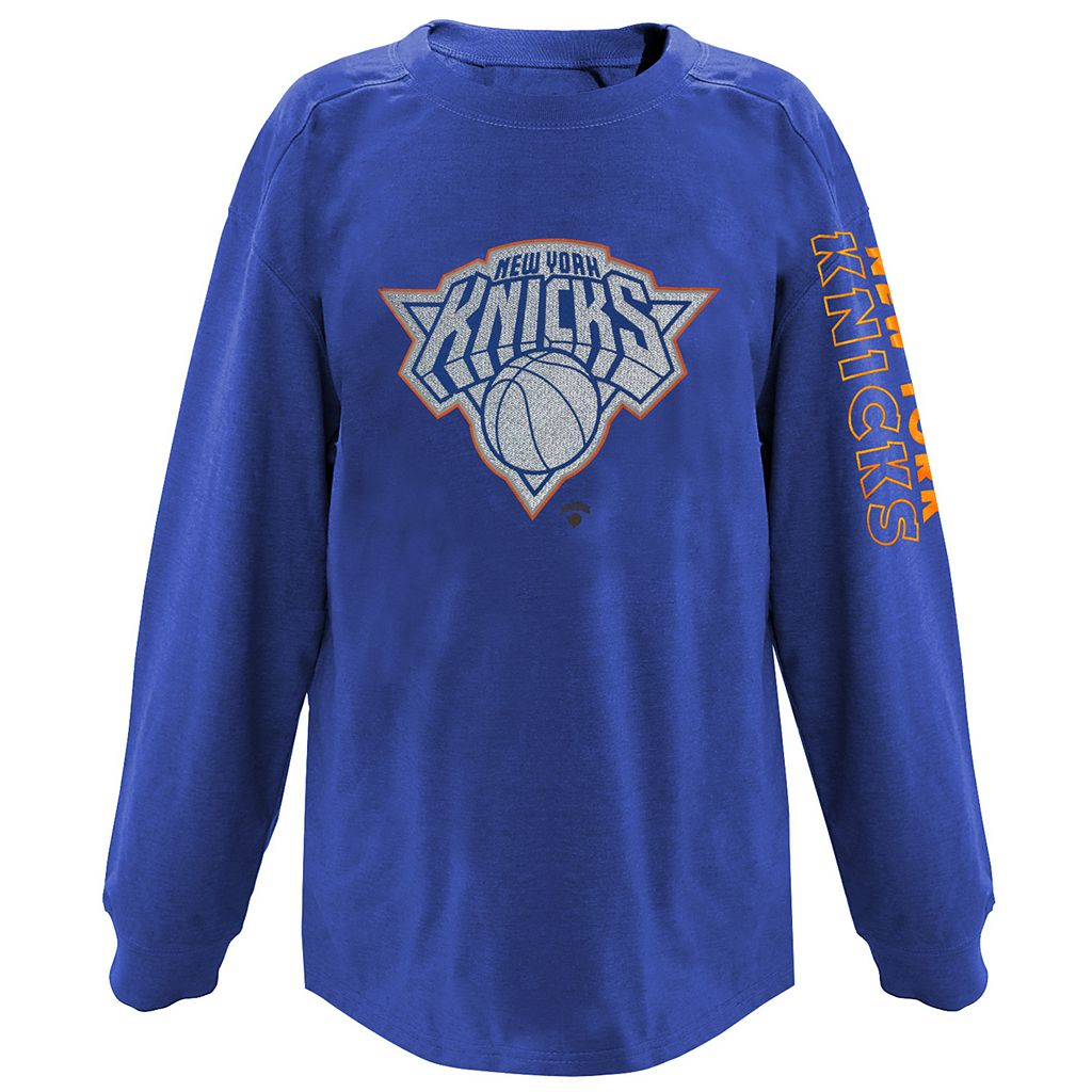 Boys 8-20 Majestic New York Knicks Reflective Logo Tee