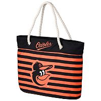 Forever Collectibles Baltimore Orioles Striped Tote Bag