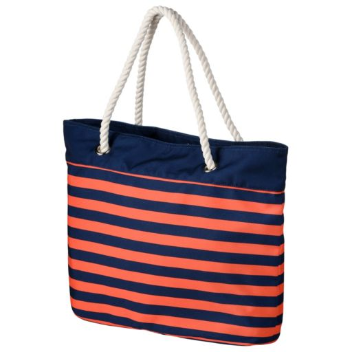 Forever Collectibles Detroit Tigers Striped Tote Bag