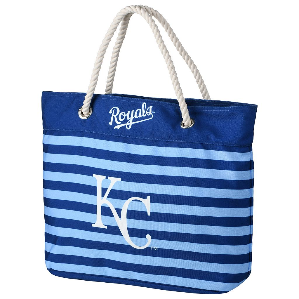 Forever Collectibles Kansas City Royals Striped Tote Bag