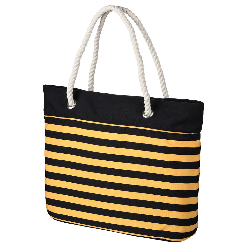 Forever Collectibles Pittsburgh Pirates Striped Tote Bag