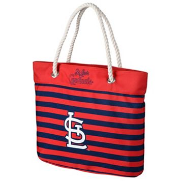 Forever Collectibles St. Louis Cardinals Striped Tote Bag