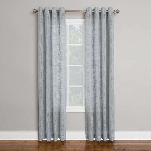 Corona 1-Panel Ashwell Window Curtain