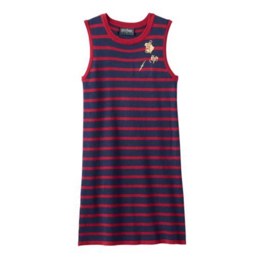 Girls 7 16 Harry Potter Striped Knit Sweater Dress