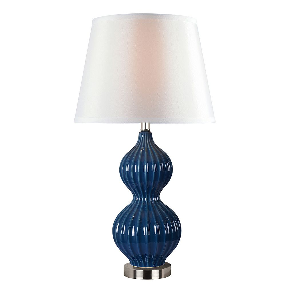 Kenroy Home Thomas Double Gourd Table Lamp