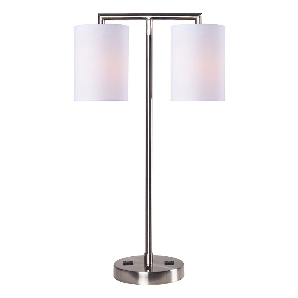 Kenroy Home 2-Light Contemporary Table Lamp