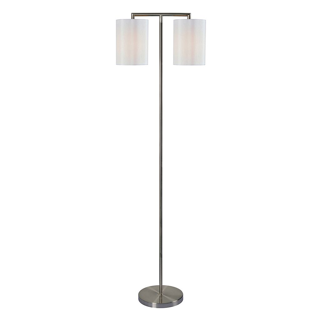Kenroy Home 2-Light Contemporary Floor Lamp