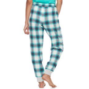 Juniors' SO® Pajamas: Naptime Squad Flannel Jogger Pants