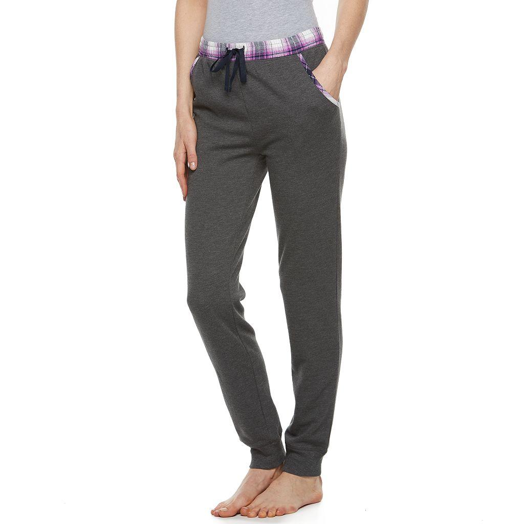 Juniors' SO® Fleece Lined Jogger Pants