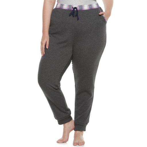 Juniors' Plus Size SO® Fleece Lined Jogger Pants