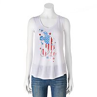 Disney's Mickey Mouse Juniors' Patriotic Graphic Tank