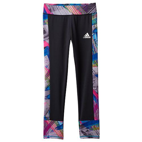 Girls 4-6x adidas climalite Free Kick Running Tights