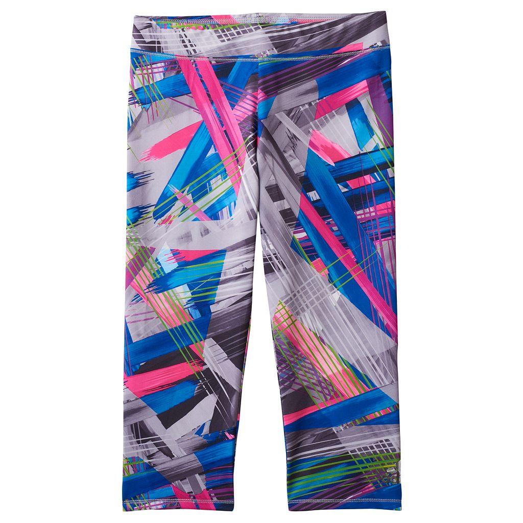 Girls 4-6x adidas Print Capri Running Tights
