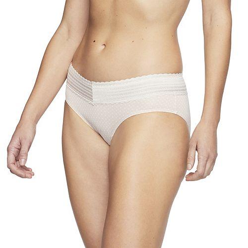 Warner's No Pinching. No Problem. Lace Trim Hipster Panty 5609J