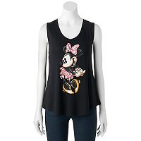 Disney's Minnie Mouse Juniors' Sketch Graphic Tank