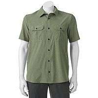 Men's ZeroXposur Tour Travel Series Classic-Fit Performance Button-Down Shirt