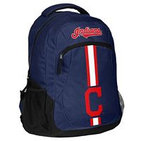 Forever Collectibles Cleveland Indians Action Backpack