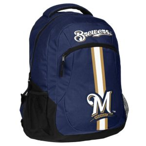 Forever Collectibles Milwaukee Brewers Action Backpack