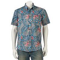 Men's Ocean Current Fantasy Button-Down Shirt