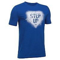 Boys 8-20 Under Armour Step Up Tee