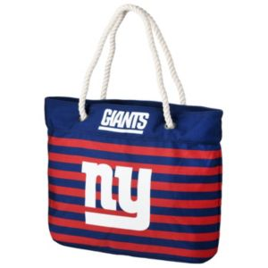 Forever Collectibles New York Giants Striped Tote Bag