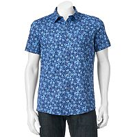 Men's Apt. 9® Slim-Fit Patterned Button-Down Shirt
