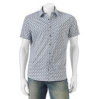 Men's Apt. 9® Slim-Fit Patterned Button-Down Shirt